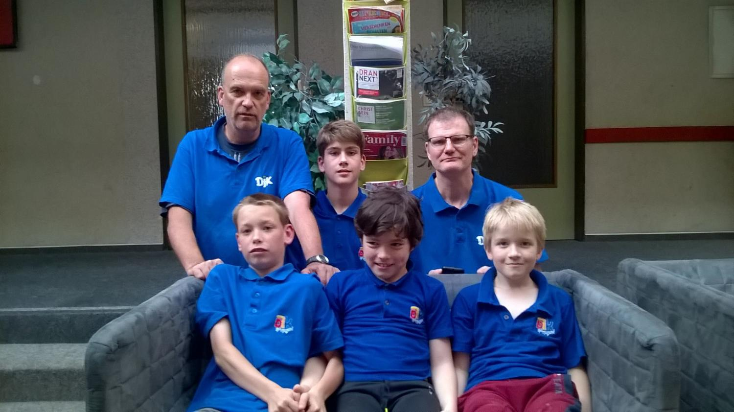 U12 Term (Frank,Julius,Sören,Marion,Christopher,Ingi)